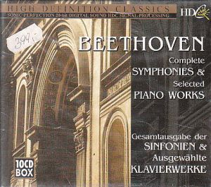 Beethoven Complet 10CD Box