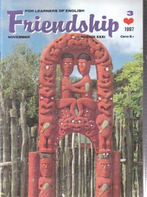 Friendship - For learners of  English 3/97